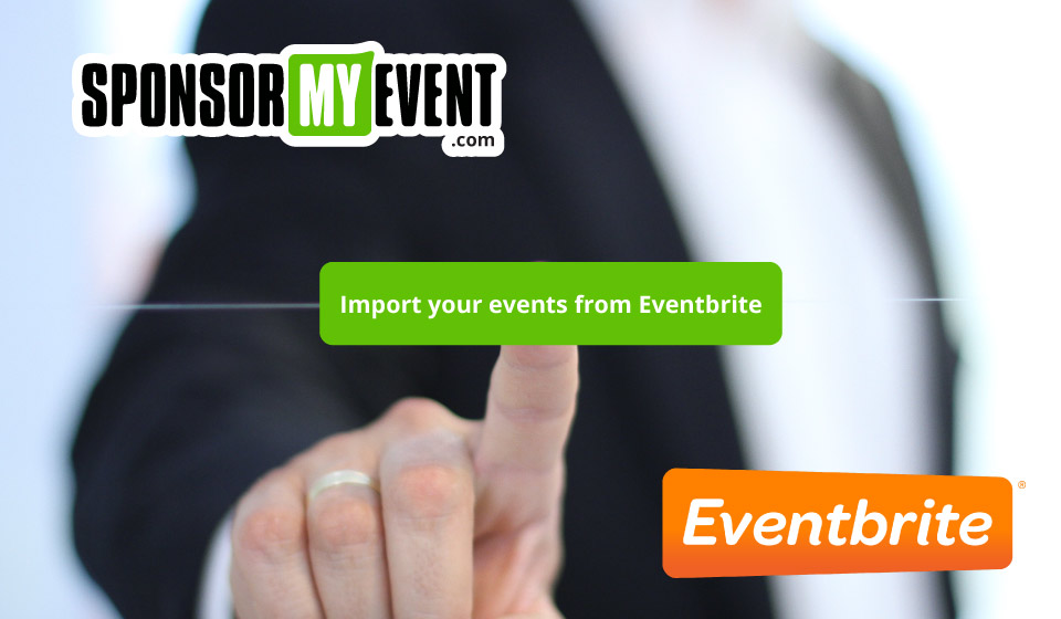 Import events from Eventbrite to SponsorMyEvent