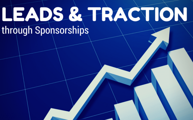 Leads and traction through sponsorships