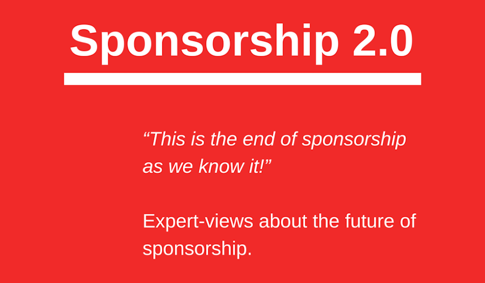 Sponsorship 2.0 – new trends ahead