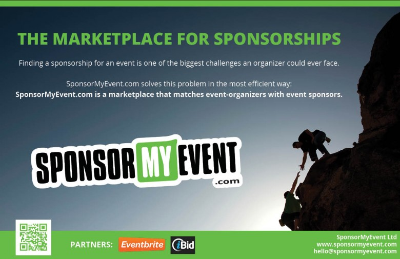 SponsorMyEvent launches a 360° solution to find sponsorships