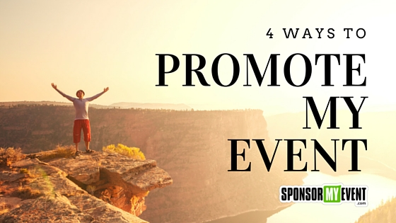 4 Ways to Promote My Event